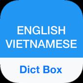 Vietnamese Dictionary - Dict Box icon
