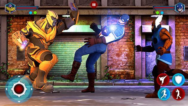 Grand Superhero Street Fighting - Thanos Revenge poster