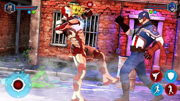 Grand Superhero Street Fighting - Thanos Revenge screenshot 10