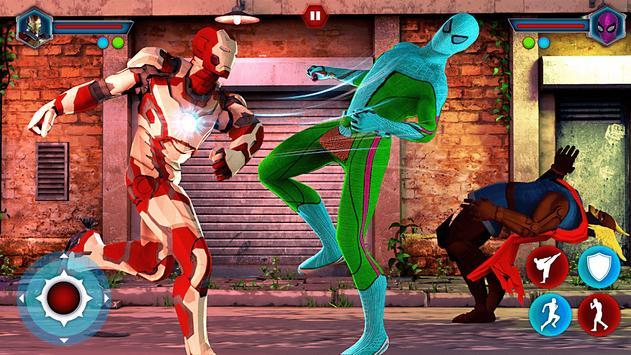 Grand Superhero Street Fighting - Thanos Revenge screenshot 11
