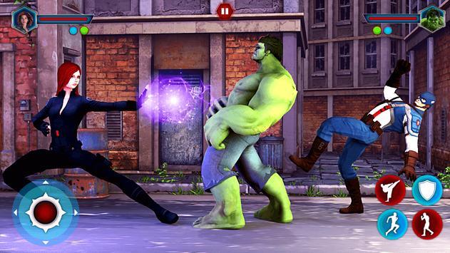 Grand Superhero Street Fighting - Thanos Revenge screenshot 12