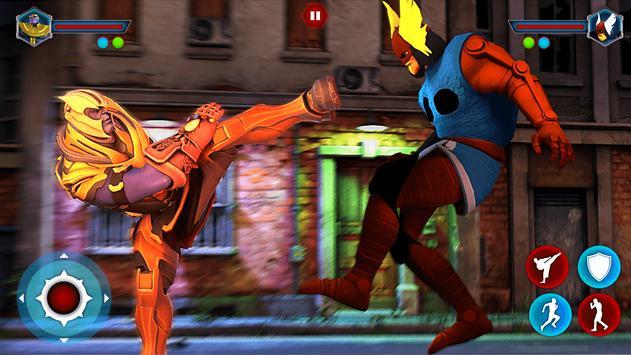 Grand Superhero Street Fighting - Thanos Revenge screenshot 14