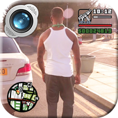 Grand Theft Gangster Photo Maker icon