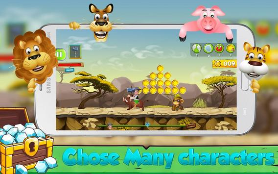 Subway Granja Adventure Zeno juego apk screenshot