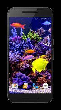 Aquarium Video Live Wallpaper apk screenshot
