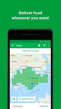GrabFood - Driver App poster