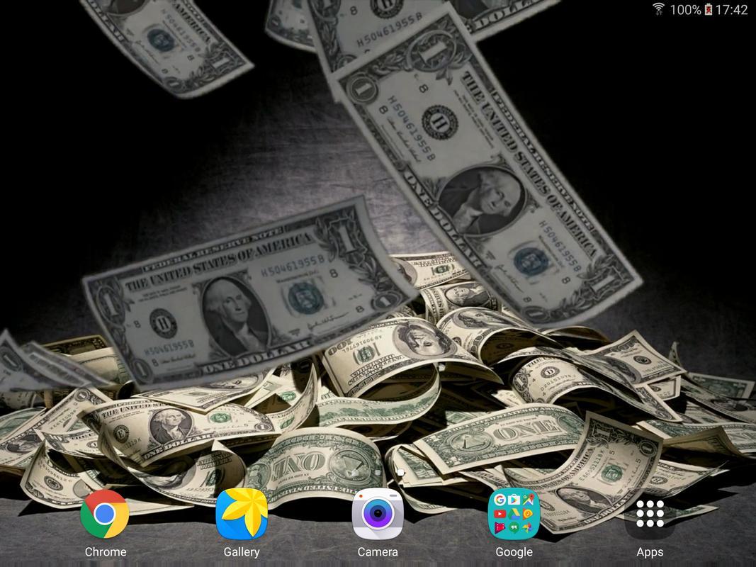 falling money live wallpaper apk download free