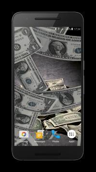 ... Falling Money Live Wallpaper تصوير الشاشة 2 ...