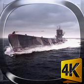 Submarine 3D Live Wallpaper icon