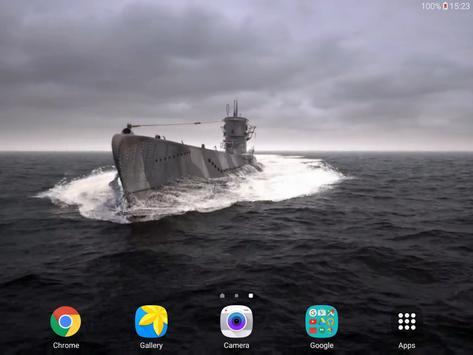 Submarine 3D Live Wallpaper apk screenshot