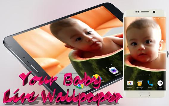 Your Baby Video Live Wallpaper poster
