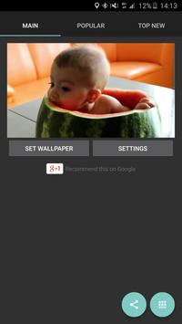Your Baby Video Live Wallpaper apk screenshot