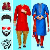 Man Sherwani Suit Photo Editor - Sherwani Dresses icon