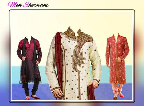Man Sherwani Suit Photo Editor - Sherwani Dresses screenshot 3