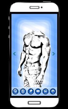 Man Body Builder Photo Editor :Six Pack Photo Suit apk screenshot