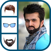 Man Mustache And Hair Styles Beard Photo Editor icon
