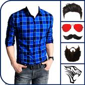 Men Shirt Photo Montage - Man Shirt Photo Editor icon