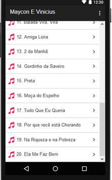 Letras de Maycon E Vinicius screenshot 1