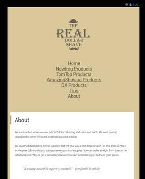 The REAL Dollar Shave apk screenshot