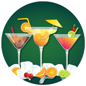 Cocktail Party Invitation Card Maker icon