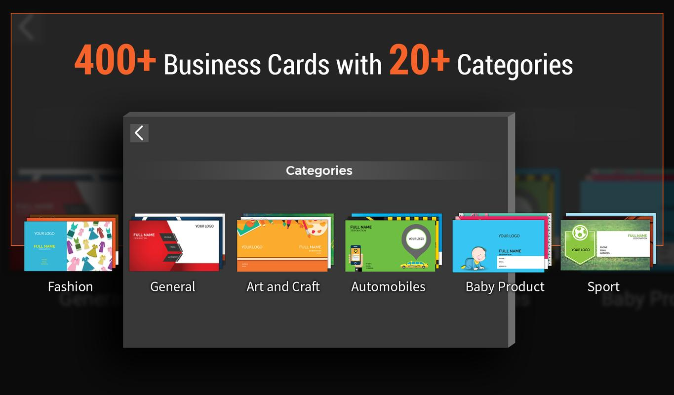 Business card maker apk download free business app for android business card maker poster business card maker apk screenshot reheart Choice Image