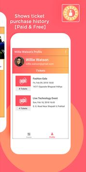 Eventable - Find Events Near by You apk screenshot