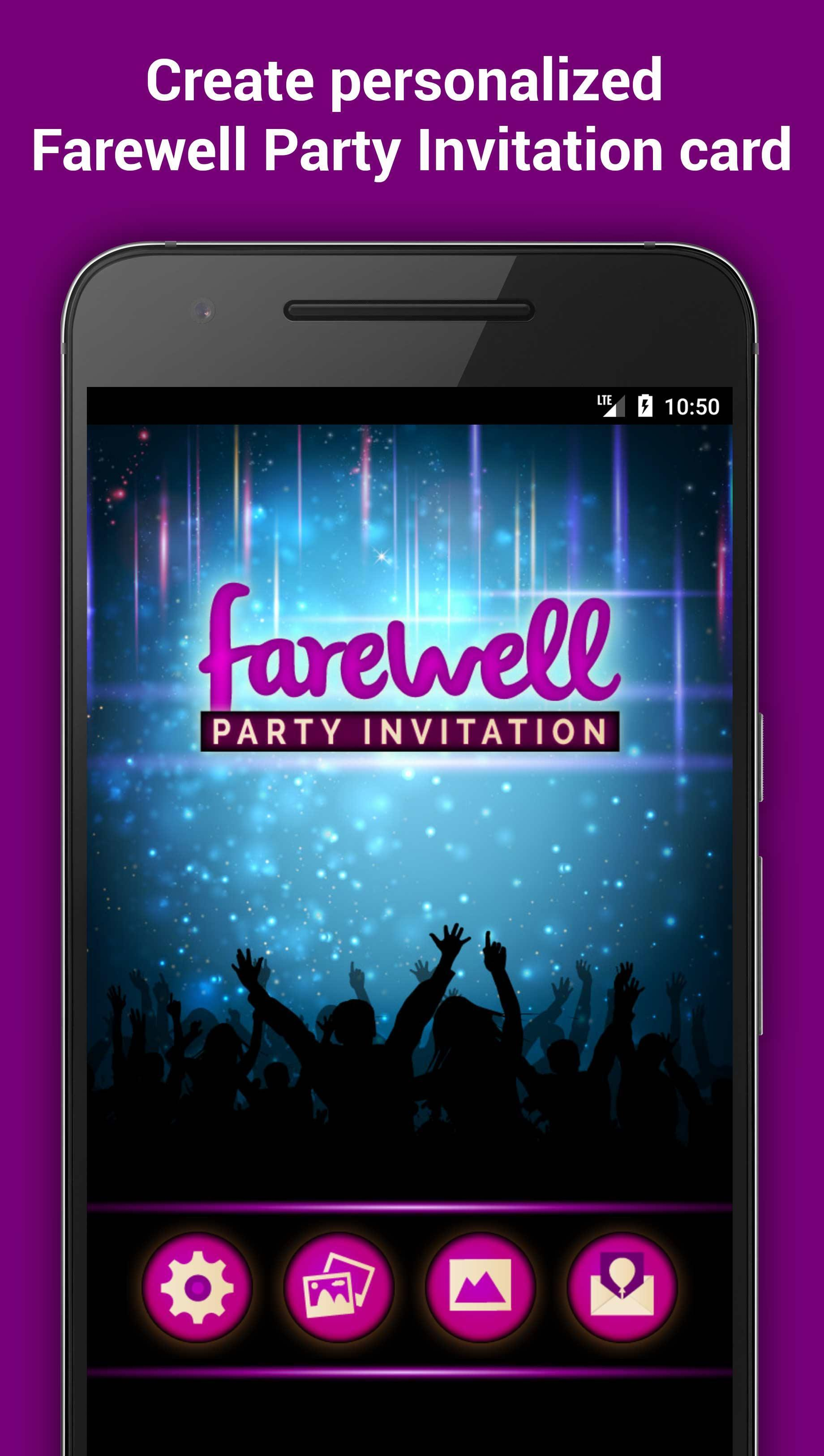 Farewell Party Invitation Maker For Android Apk Download