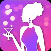 Kitty Party Invitation Maker icon