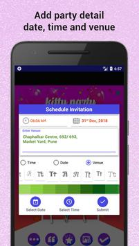Kitty party invitation maker para android apk baixar kitty party invitation maker imagem de tela 3 stopboris Image collections