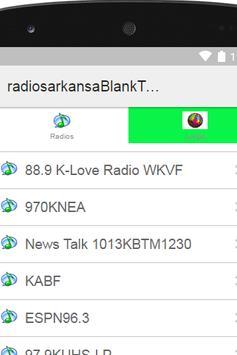 Radios Arkansas Plus screenshot 2