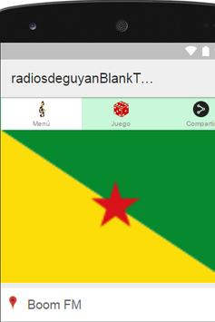Radiosde Guyana Plus poster