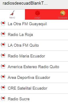 Radios de Ecuador Plus screenshot 1