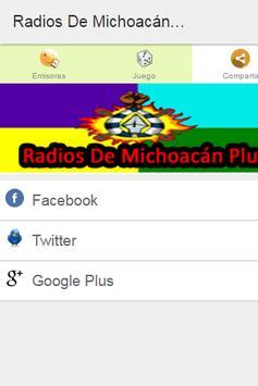 Radios De Michoacán Plus poster
