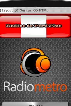 Radios de Peru Plus poster