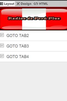 Radios de Peru Plus screenshot 1