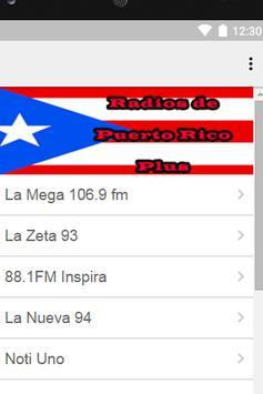 Radios de Puerto Rico Plus poster