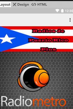 Radios de Puerto Rico Plus screenshot 1