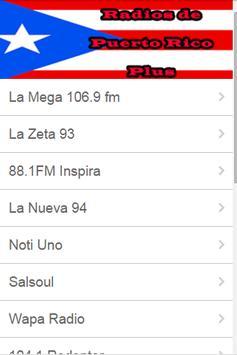 Radios de Puerto Rico Plus screenshot 2