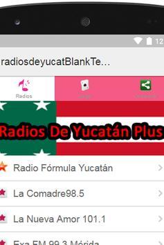 Radios De Yucatán Plus poster