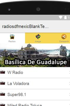 Radios D.F. Mexico Plus poster