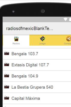 Radios D.F. Mexico Plus screenshot 1