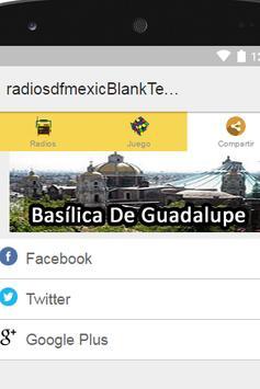 Radios D.F. Mexico Plus apk screenshot