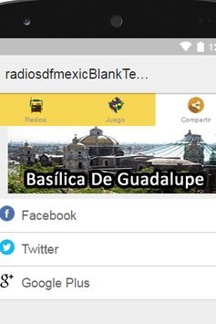 Radios D.F. Mexico Plus screenshot 3