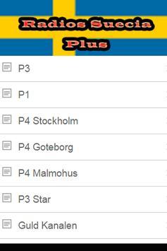 Radios Suecia Plus apk screenshot