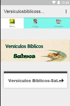 Versículos Bíblicos-Salmos- poster