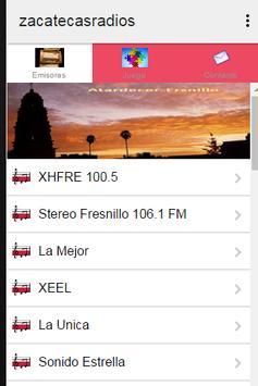 Zacateca's Radios poster