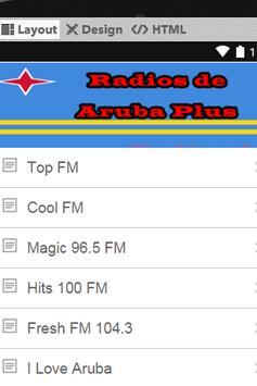 Radios de Aruba Plus poster