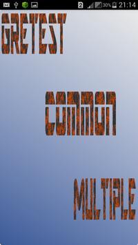 GreatestCommonMultiple poster