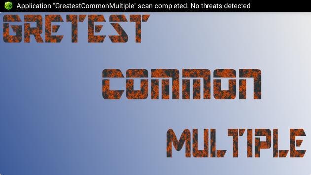 GreatestCommonMultiple screenshot 7