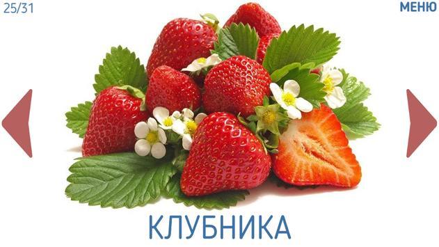 Фрукты овощи ягоды для детей screenshot 1